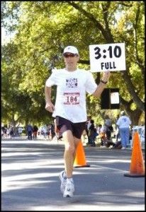 John Blue will be leading the 1:30 pace group at Urban Cow this year.