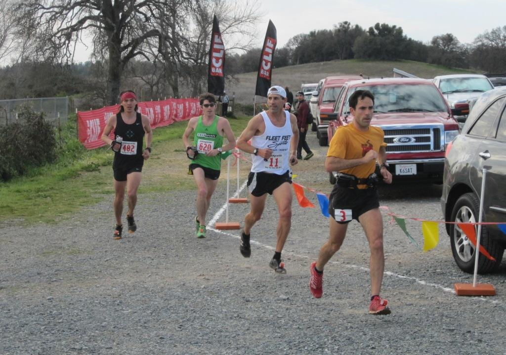 Lead pack at 8 WTK 2012