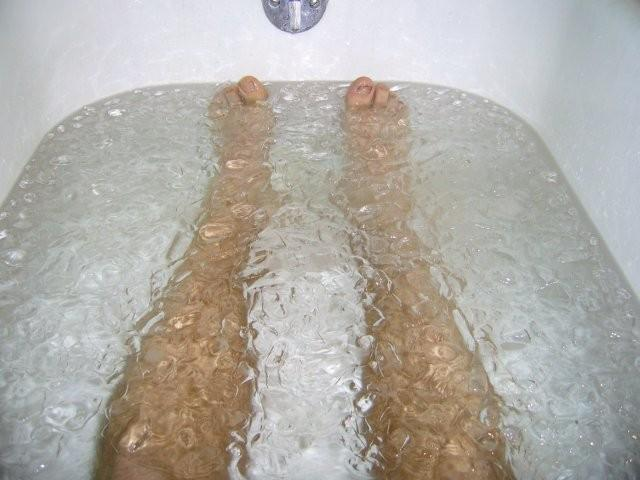 how to take an ice bath for runners