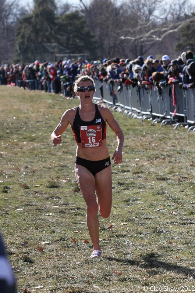 Conley in the home stretch at XC Nationals. (Photo by Clay Shaw)