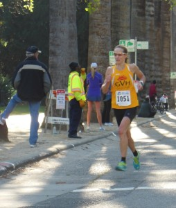 Beth Zinkand Michel heading for a 2nd place masters finish. (SRN photo)