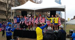 13 women hit the Olympic Trials qualifying standard. (SRN photo) (See note re: OT qualifiers)